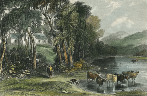 Painting of Ellisland Farm