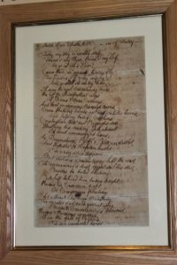 Manuscript of 'Epistle to Robert Graham of Fintry, 1788'