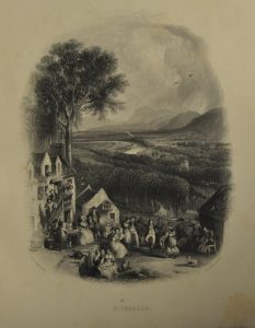 Engraving of Nithsdale, by David Octavius Hill